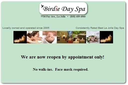 Birdie Day Spa La Jolla